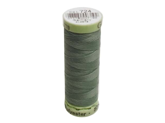 Gutermann Top Stitch Heavy Duty Thread 33 yd. #724 Willow Green