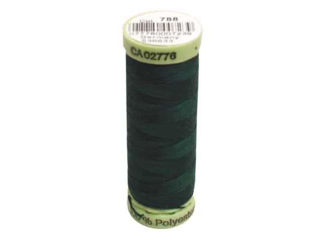 Gutermann Top Stitch Heavy Duty Thread 33 yd. #788 Dark Green