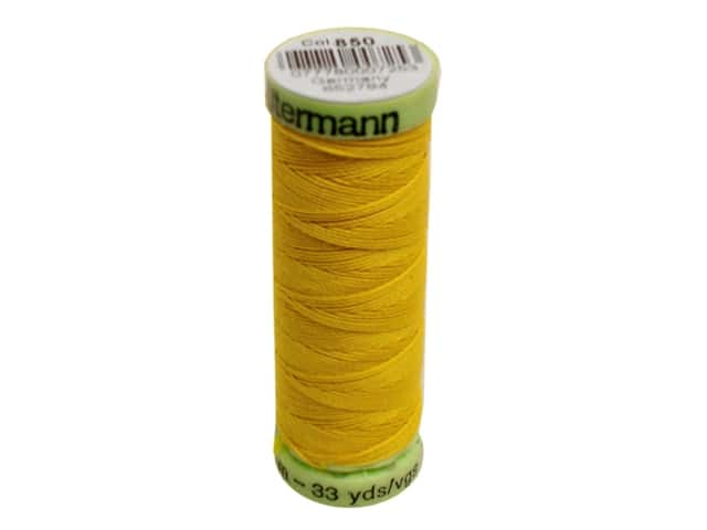 Gutermann Top Stitch Heavy Duty Thread 33 yd. #850 Goldenrod