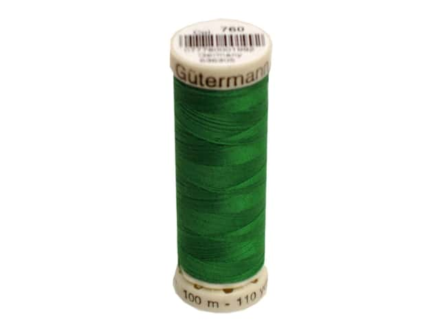 Gutermann Sew-All Thread 110 yd. #760 Kelly Green