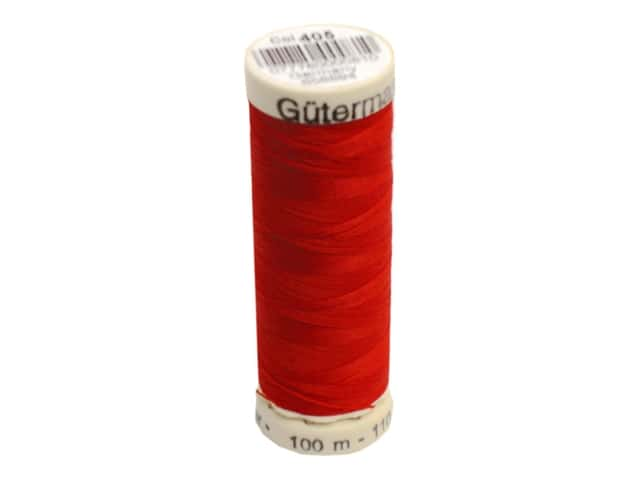 Gutermann Sew-All Thread 110 yd. #405 Flame Red