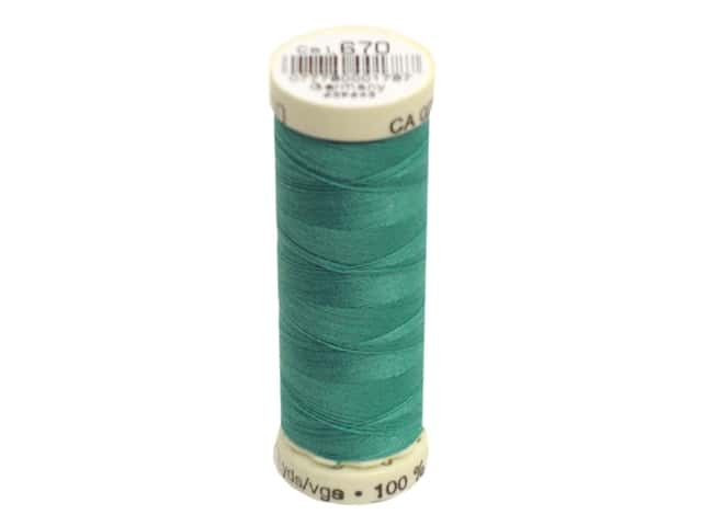 Gutermann Sew-All Thread 110 yd. #670 Bright Peacock