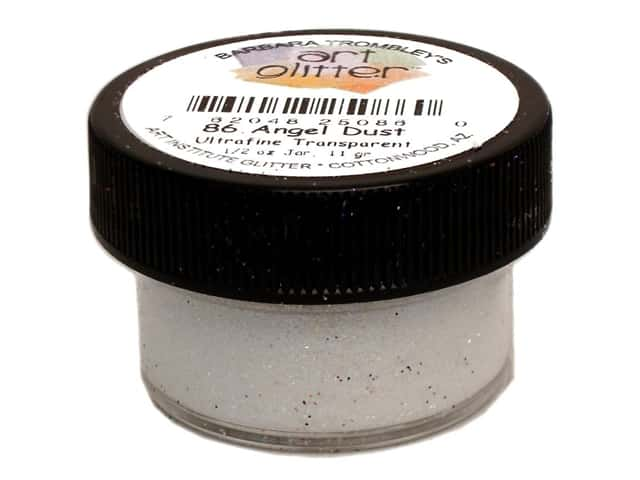 Art Institute Glitter Ultrafine 1/2 oz. Transparent Angel Dust