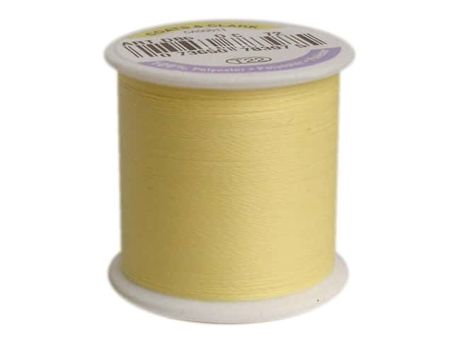 Coats & Clark Glow In The Dark Thread 100yd Yellow