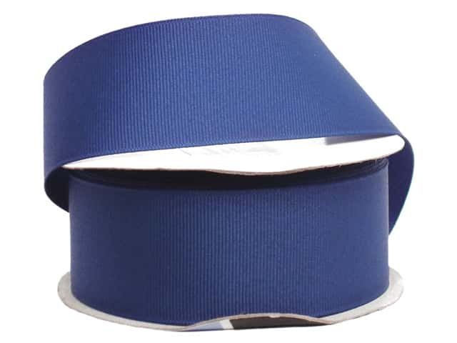 Offray Grosgrain Ribbon 1 1/2 in. x 10 yd. Century Blue