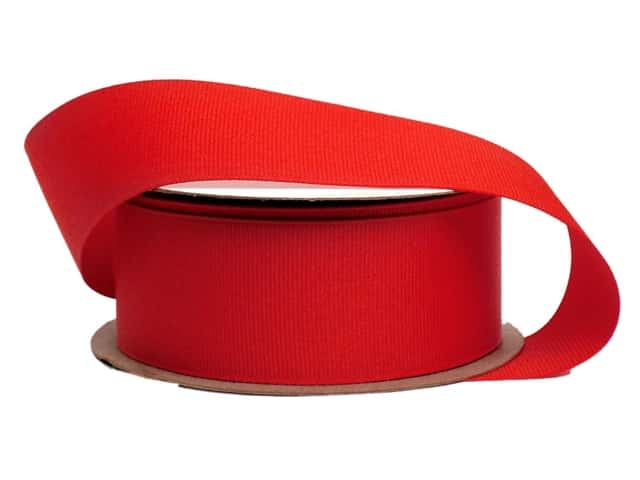 Offray Grosgrain Ribbon 1 1/2 in. x 10 yd. Red (10 yards)