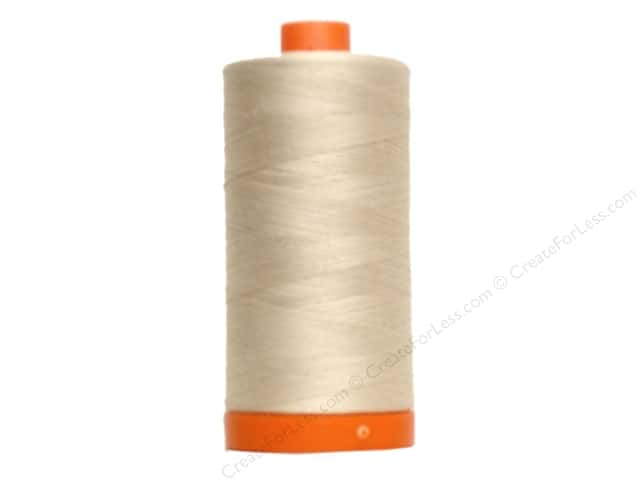 Aurifil Mako Cotton Quilting Thread 50 wt. #2310 Light Beige 1420 yd.