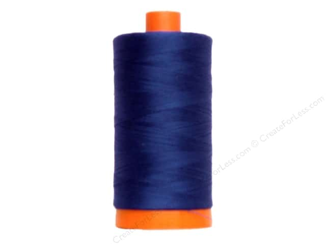 Aurifil Mako Cotton Quilting Thread 50 wt. #2740 Dark Cobalt 1420 yd.