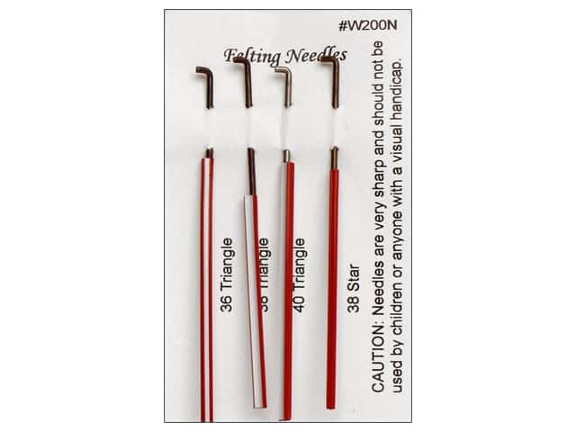 Wistyria Editions Felting Needles 4 pc. Assorted