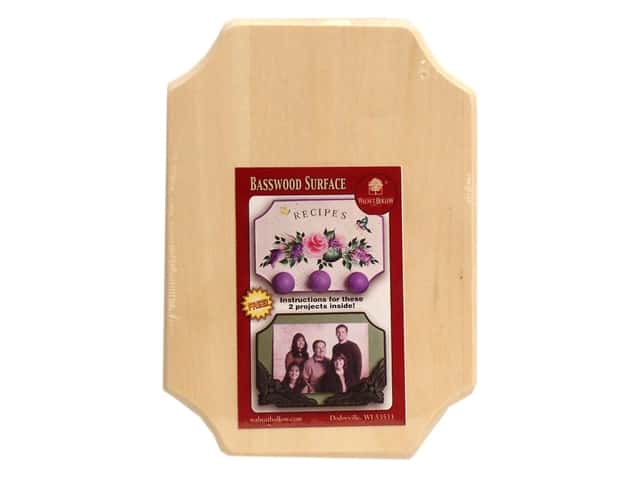 Walnut Hollow Birch Value Plaque 5 1/4  x 7 1/4 in. French Corner