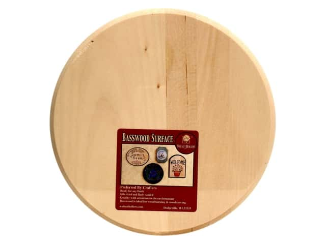 Walnut Hollow Basswood Circle Plaque 8 in.