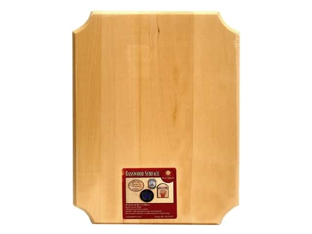 Walnut Hollow Basswood French Corner Plaque 9 x 12 in.