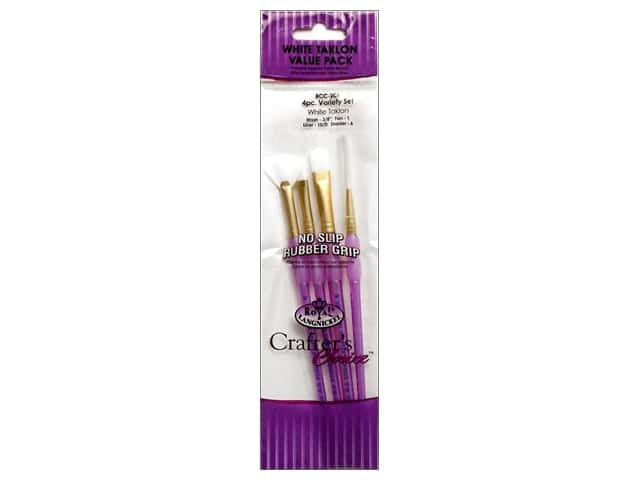 Royal Crafter's Choice Brush Set White Talkon Variety 206