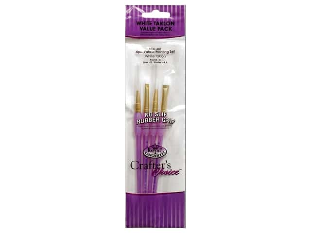 Royal Crafter's Choice Brush Set White Talkon Fabric Painting 207