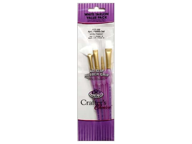 Royal Crafter's Choice Brush Set White Talkon Variety 222