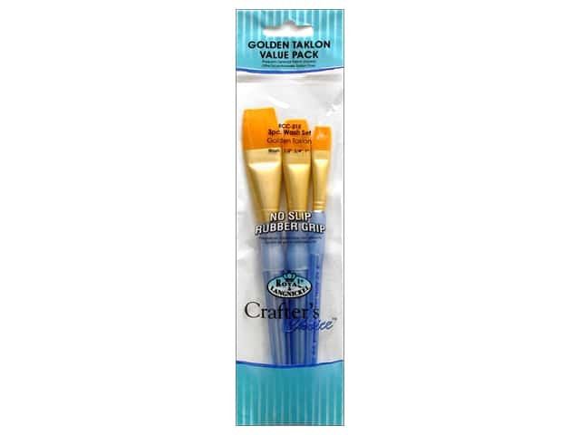 Royal Crafter's Choice Brush Gold Taklon Wash 215