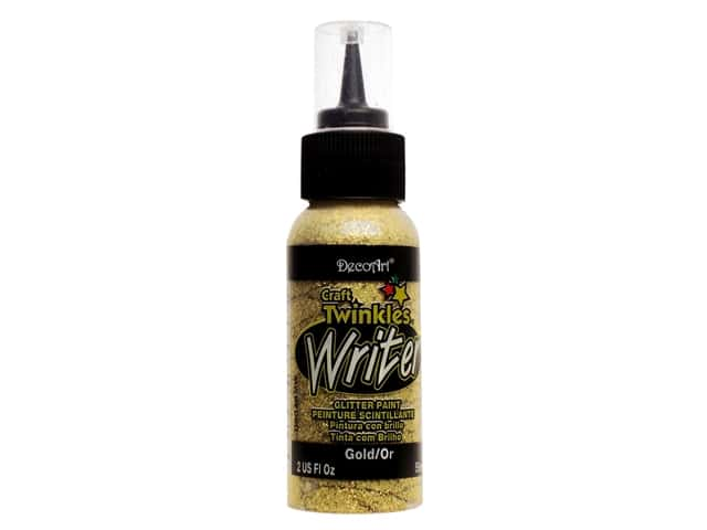 DecoArt Craft Twinkles Writer 2 oz. Gold