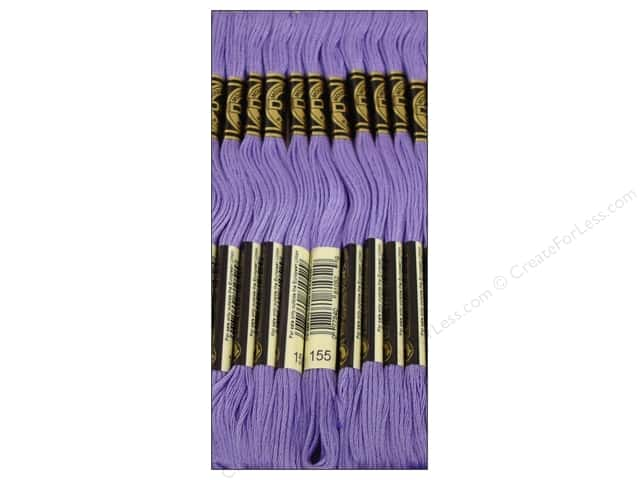 DMC Six-Strand Embroidery Floss #155 Medium Dark Blue Violet (12 skeins)