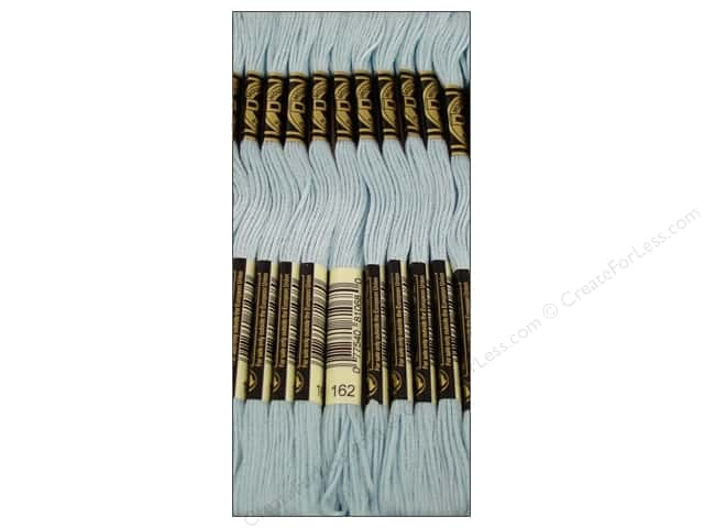 DMC Six-Strand Embroidery Floss #162 Light Baby Blue (12 skeins)