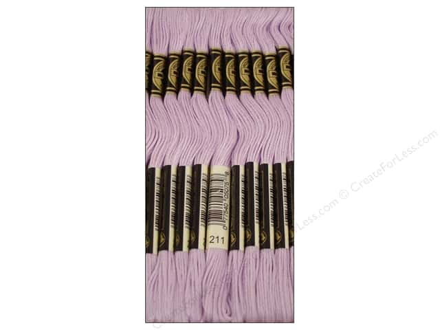 DMC Six-Strand Embroidery Floss #211 Light Lavender (12 skeins)