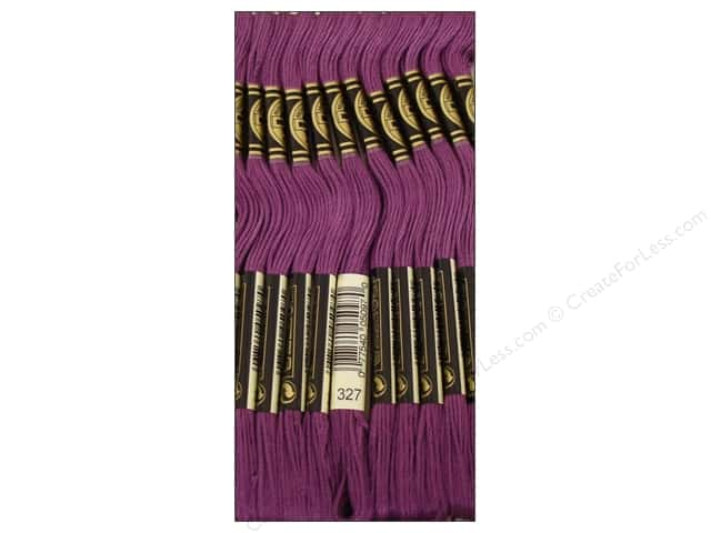 DMC Six-Strand Embroidery Floss #327 Very Dark Violet (12 skeins)