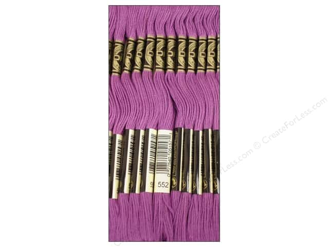 DMC Six-Strand Embroidery Floss #552 Medium Violet (12 skeins)