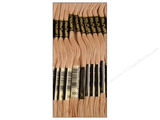 DMC Six-Strand Embroidery Floss #950 Light Desert Sand (12 skeins)