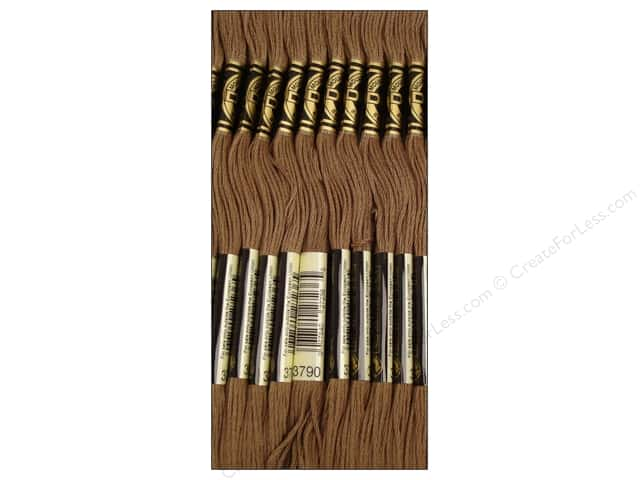 DMC Six-Strand Embroidery Floss #3790 Dark Beige Grey (12 skeins)