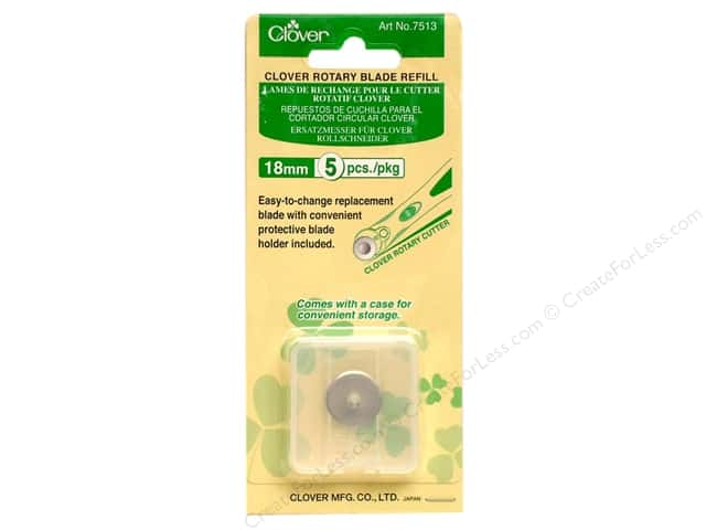 Clover Rotary Cutter Blade Refill 18 mm 5 pc.
