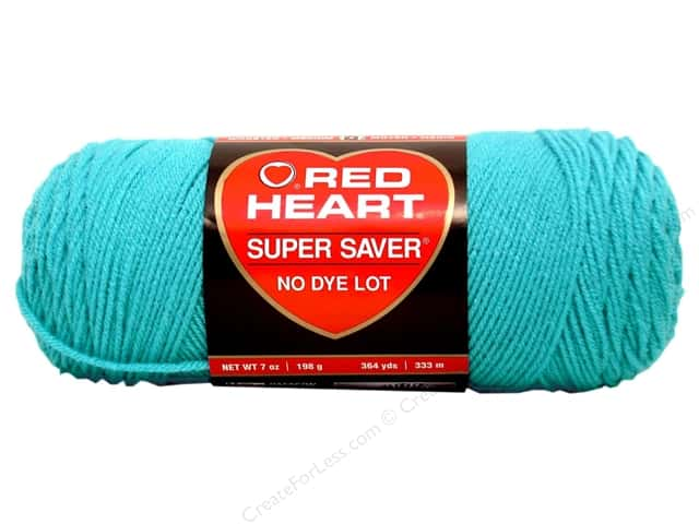 Red Heart Super Saver Yarn #0512 Turqua 364 yd.