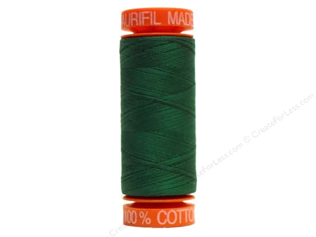 Aurifil Mako Cotton Quilting Thread 50 wt. #2885 Evergreen 220 yd.