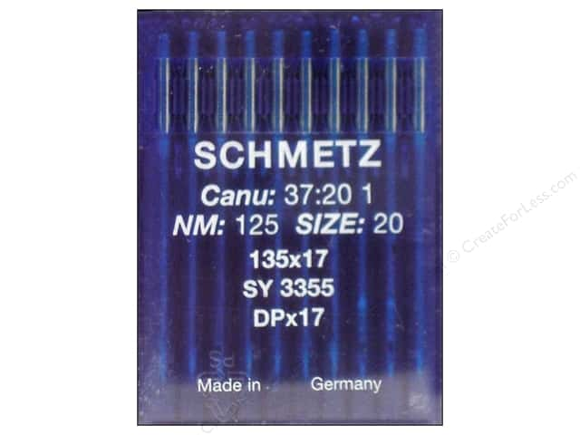 Schmetz Long Arm Industrial Needle Size 20 10pc