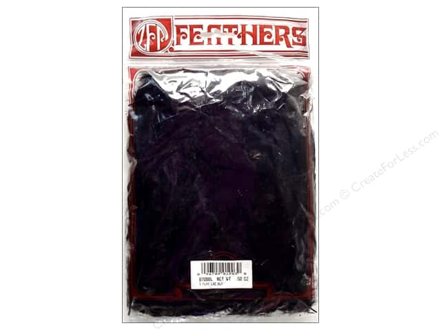 Zucker Feather Turkey Flats 0.5oz Black