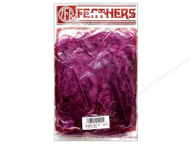 Zucker Feather Turkey Flats Feathers 1/2 oz. Purple