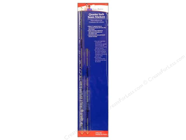 Fons & Porter Notions Ruler Quarter Inch Seam Marker