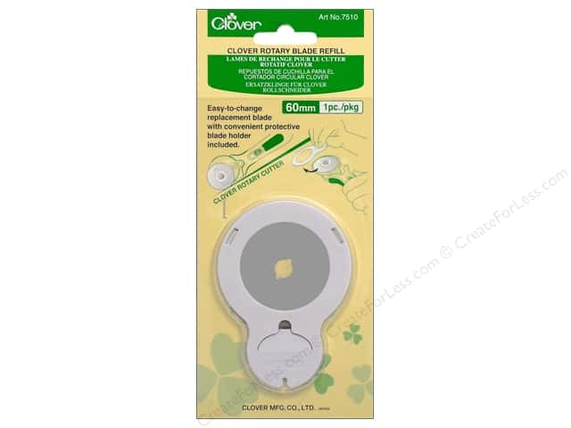 Clover Rotary Cutter Blade Refill 60 mm 1 pc.
