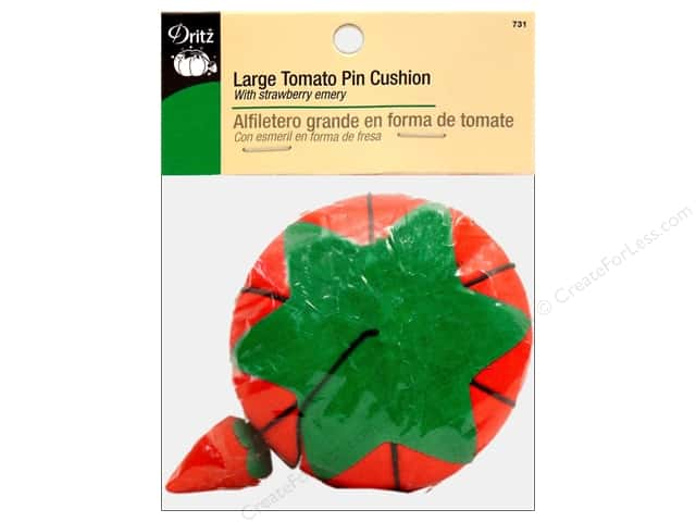 Large Tomato Pin Cushion by Dritz 4 in.