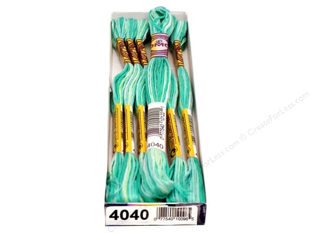 DMC Color Variations Floss 8.7 yd. #4040 Water Lilies (6 skeins)