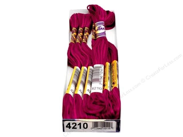 DMC Color Variations Floss 8.7 yd. #4210 Radiant Ruby