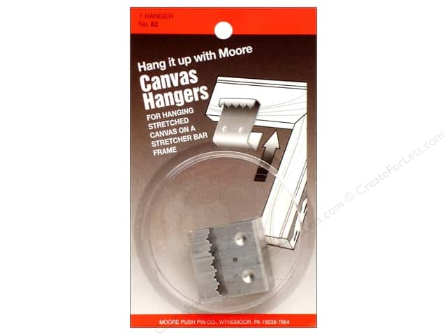 Moore Canvas Hangers 1 1/4 x 1 1/4 x 5/8 in.
