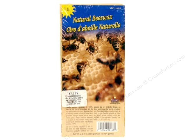 Yaley Beeswax 1 lb. Natural