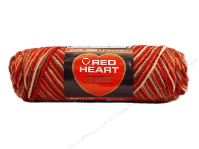 Red Heart Classic Yarn 146 yd. #996 Sedona