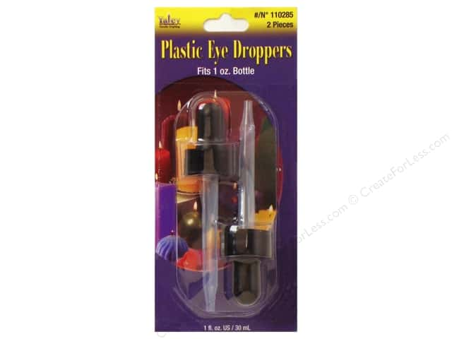 Yaley Plastic Eye Dropper 2pc