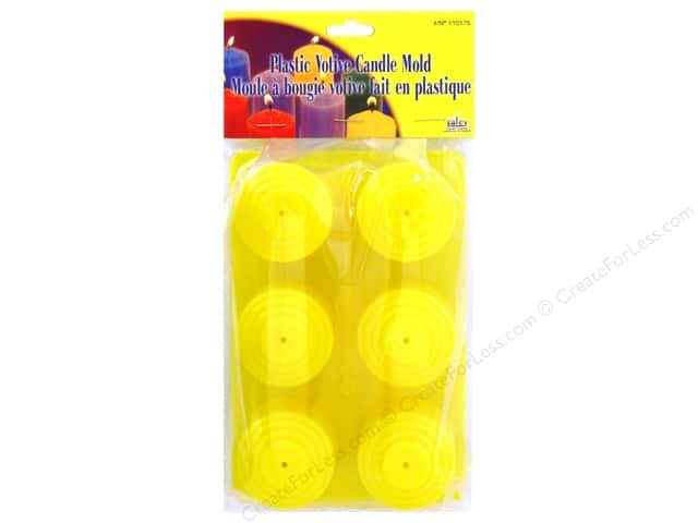 Yaley Mold Plastic Votives 6 Cavity