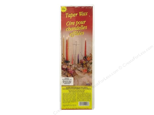 Yaley Taper Candle Wax 4 lb.