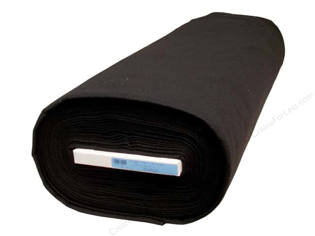 Kunin Rainbow Classic Felt 72 in. x 20 yd. Black (20 yards)