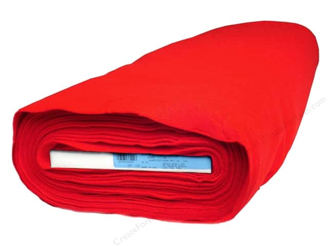 Kunin Rainbow Classic Felt 36 in. x 20 yd. Red (20 yards)