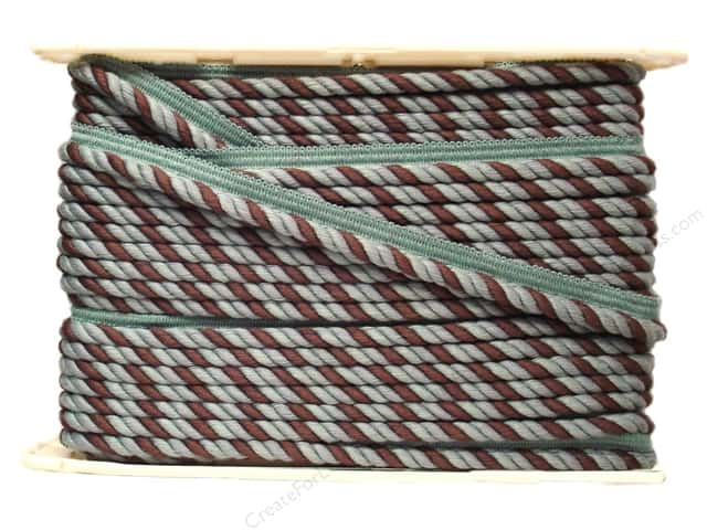 "Conso Empress Cord w/Lip 3/8"" Abalone (24 yards)"