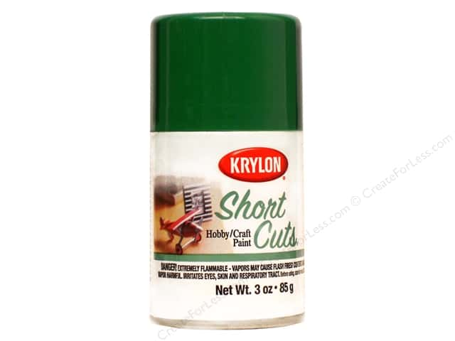 Krylon Shortcuts Aerosol Paints 3 oz. Leaf Green