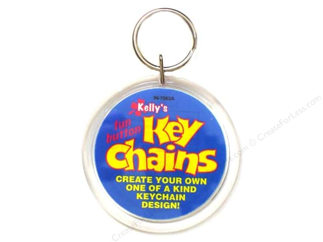 Kelly's Kraze Key Chain 2.25""